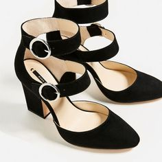 BUCKLED HIGH HEEL SHOES-View all-SHOES-WOMAN   ZARA Italy