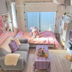 Room Design Bedroom, Room Ideas Bedroom, Bedroom Decor, Study Room Decor, Cute Room Decor, Dream Rooms, Dream Bedroom, Deco Cool, Deco Studio