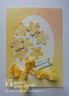 Watercolor petite petals