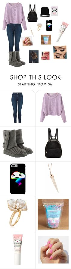 """Chill"" by naomi-aalbregtse ❤ liked on Polyvore featuring J Brand, Chicnova Fashion, UGG, STELLA McCARTNEY, Ross-Simons, Too Faced Cosmetics, SoGloss and Tony Moly"
