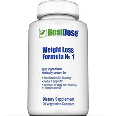 RealDose Weight Loss Formula No. 1 - Weight Loss Supplement Includes Decaf Green Coffee Bean Extract (Svetol) *** Continue to the product at the image link.
