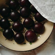 plum and lemon verbena clafoutis Verbena, Wordpress, Lemon, Fruit, Recipes, Food, Rezepte, Essen, Recipe