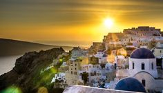 Oia by sunset
