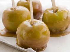 """Toffee Apples"" from Cookstr.com #cookstr"