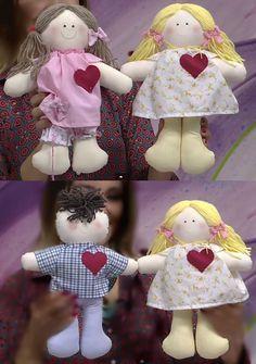 Aprenda fazer bonecas de pano para iniciante passo a passo para ganhar dinheiro extra. Modelo de boneca de pano para iniciantes passo a passo.