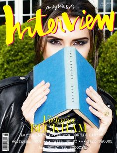 Victoria Beckham Interview cover