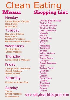 24 delicious clean eating meal prep ideas pinterest college a daily dose of del signore eat clean on a budget menu and shopping list might need to sub some of the main dishes with something else but a good start forumfinder Images