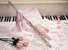 Ballet and flute- my two favourite things...