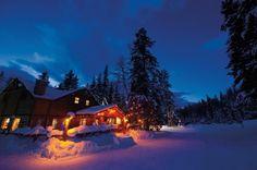 Award winning travel writer Heather Greenwood Davis enjoys the apres ski in a cozy chalet. globetrottingmama.com Breathedreamgo.com