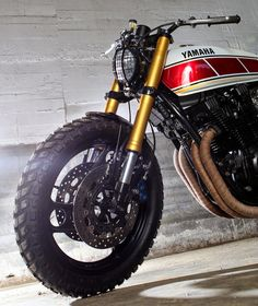 Custom Yamaha Xj 900 Custom Yamaha XJ 900 Scrambler a custom bike from the…
