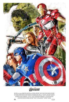 The Avengers - movie poster - Paul Shipper