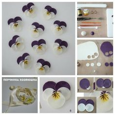 Как украшать пасхальные куличи сахарной мастикой - Перчинка хозяюшка