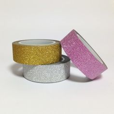 Masking tape paillettes
