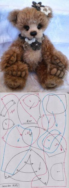Наши милые игрушки - мишки Тедди, куклы Тильды Мишка Милли от Ларисы Кох.
