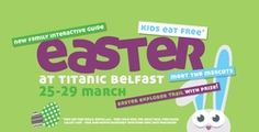 Easter fun continues today at Titanic Belfast !
