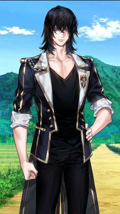 Handsome Anime Guys, Hot Anime Guys, Cute Anime Boy, Dungeons And Dragons Characters, Fantasy Characters, Anime Characters, Hades, Fantasy Character Design, Character Art