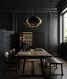 Фото из статьи: Чёрный цвет в дизайне интерьера: советы по применению