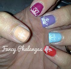 Princess Nails IM DOING THIS.