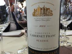 A #cena un elegante #CabernetFranc #Usa con qualcosa d'italiano: #Virginia Reserve 2012 by #Barboursville @zonin1821
