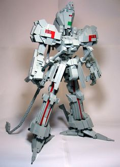 A Five Star Stories mecha made out of Lego