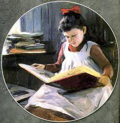 pintura de Nikolai Pimonenko