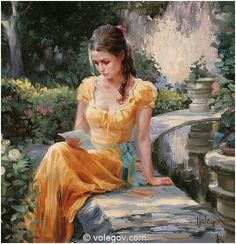 """Golden Dress"" - Vladimir Volegov"