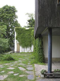 Alvar Aalto's Helsinki, Finland home, 1936.