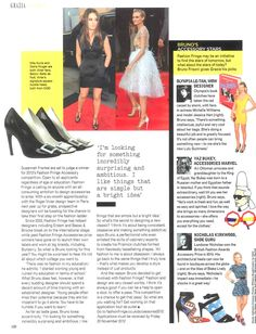 Fashion Fringe Accessories launched in Grazia (part 2)