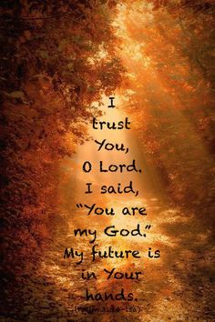 """♪ ♫ 'Tis so sweet to trust in Jesus, ♫ ♪ And to take Him at His Word; ♪ ♫ Just to rest upon His promise, ♫ ♪ And to know, """"Thus says the Lord!"""" ♪ ♫ ♪ Jesus, Jesus, how I trust Him! ♫ ♪ ♫ How I've proved Him o'er and o'er ♪ ♫ ♪ Jesus, Jesus, precious Jesus! ♫ ♪ ♫ O for grace to trust Him more! -Stead/Kirkpatrick https://www.youtube.com/watch?v=3RqfAjPzpko&spfreload=1"""