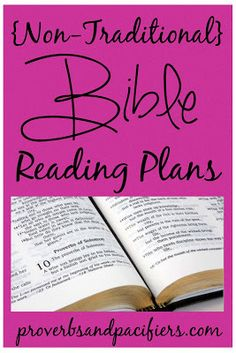 Looking for a Bible reading plan for the coming year... check out this post!
