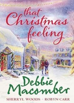"Contains 3 Christmas romances by ""New York Times"" bestselling authors: ""Silver Bells"" by Debbie Macomber, ""The Perfect Holiday"" by Sherryl Woods and ""Under The Christmas Tree"" by Robyn Carr. I Love Books, Good Books, Books To Read, My Books, Romance Authors, Book Authors, Romance Books, Christmas Feeling, Christmas Books"