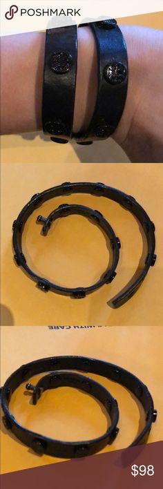 Tory Burch wrap bracelet Great condition, barely been worn Tory Burch Jewelry Bracelets