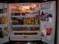 Refrigerator organization sample