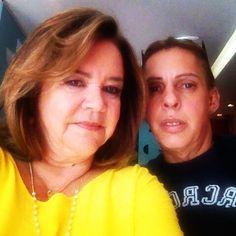 Marquinhos da Boutique da Beleza arrasou na maquiagem e no cabelo da Tânia D'Avila diretora social da Revista D' Ávila