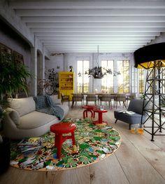 L'afrique Carpet by Studio Job for Moooi