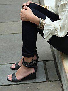 Sophie Mini Wedge in heels-wedges
