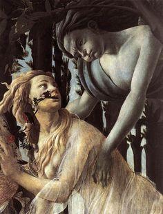 Sandro Botticelli, 1482.  Primavera (detail)