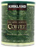 Kirkland Signature Dark Rost Fine Grind Decaf Arabica Coffee,  48 Ounce - http://www.freeshippingcoffee.com/caffeine-type/decaffeinated/kirkland-signature-dark-rost-fine-grind-decaf-arabica-coffee-48-ounce/ - #Decaffeinated