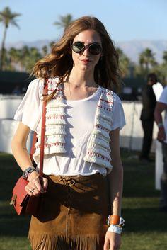 On the grounds of Coachella.[Photo by Katie Jones]