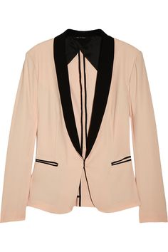 Rag & bone Silver Tuxedo cotton-blend blazer