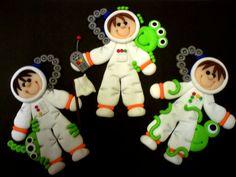 Cute little boy Spacemen