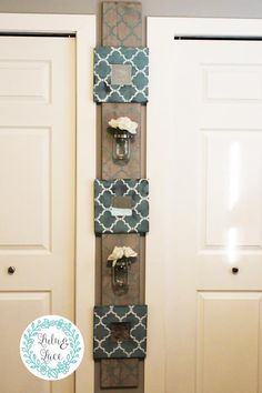 Wall Mounted Mirrors and Storage (Teal) – Lulu & Lace