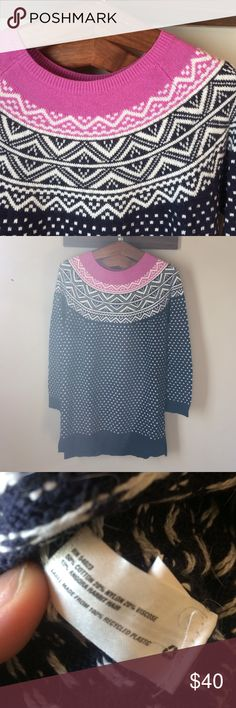 🌷Gap Fair Isle Dress | Fair isles, Pink and Casual