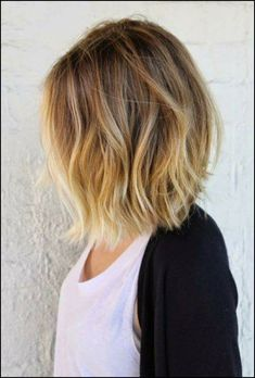 balayage #cortebob #cabello #hair ♥ | Fashion and... | Pinterest ... #Frisuren #HairStyles
