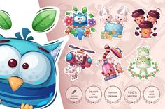 Cartoon Stickers, Cute Stickers, Promotional Banners, Fabric Gifts, Graphic Illustration, Illustrations, Journal Cards, School Design, As You Like