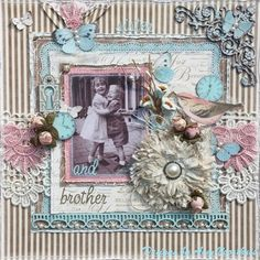 Sister+and+Brother - Scrapbook.com
