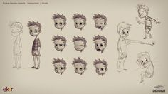 DEISIGN: Character Design Project Walkthrough | Client: ELKAR Publishing