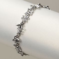 Chain Of Music Charms Bracelet at The Music Stand