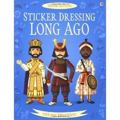Long Ago (Sticker Dressing Up) by Usborne $6.59