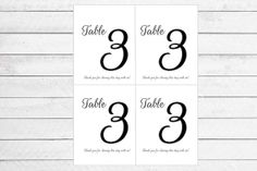 Custom Table Number Wine Bottle Labels by WritefullySimple on Etsy, $40.00